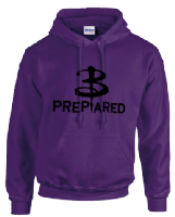 B PREPARED HOODIE - INSPIRED BY BUFFY THE VAMPIRE SLAYER